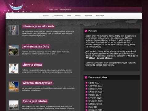 Nowachatawroclaw.pl izolacje poddaszy