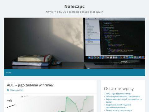 Nałęcz-PC instalacja Vista 8 Łódź