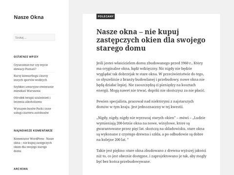 Naszeokna.eu - remonty domów i mieszkań