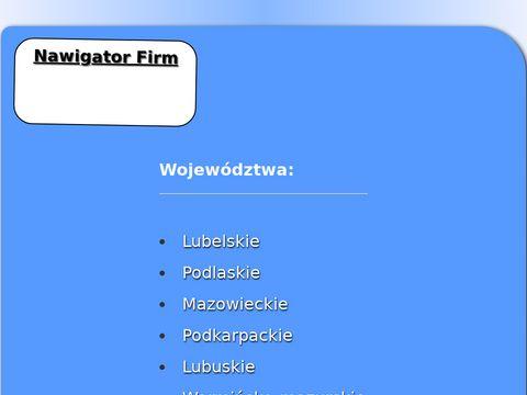 Nawigator-firm.pl reklama firmy w internecie