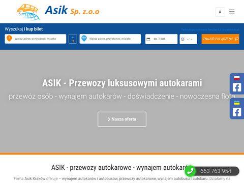 Asik.com.pl firma przewozowa