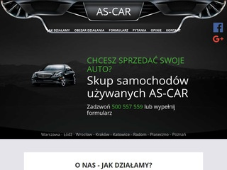As-Car skup aut Łódź