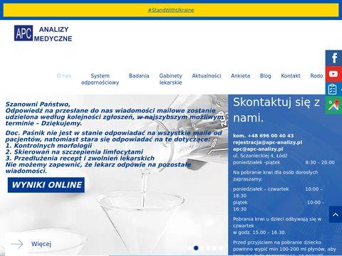 APC analizy medyczne Małgorzata Banasik Łódź