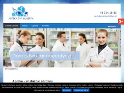 Aptekaswhuberta.pl lekarstwa koluszki