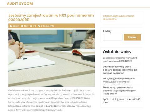 Audit-Sycom usługi księgowe Gdańsk