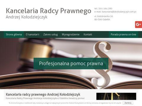Akolodziejczyk.com.pl konsultacje prawne Gdańsk