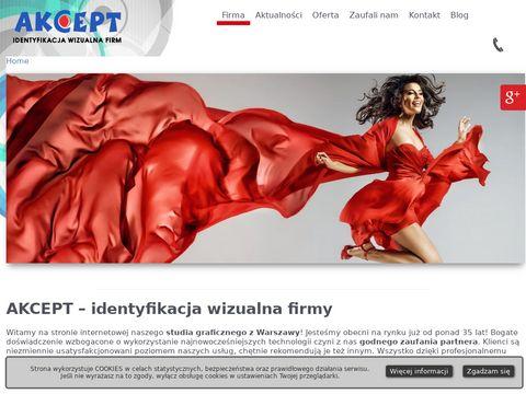 Akcept reklama zewnętrzna Warszawa