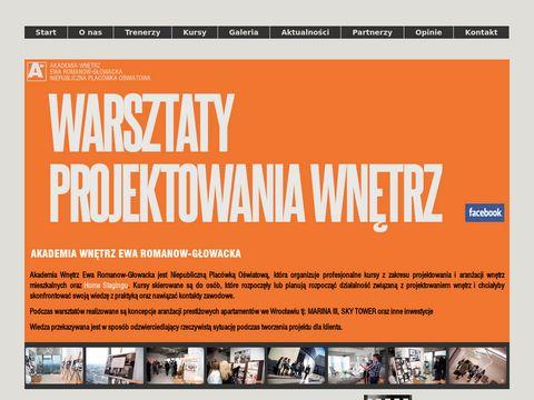 Akademia Wnętrz Ewa Romanow-Głowacka studia