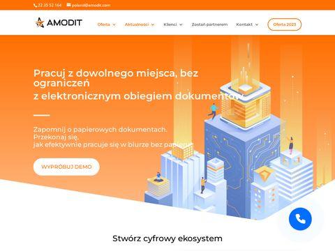 Amodit.pl - wdrożenie obiegu dokumentów
