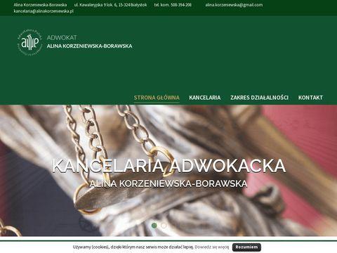 Alinakorzeniewska.pl prawo rodzinne