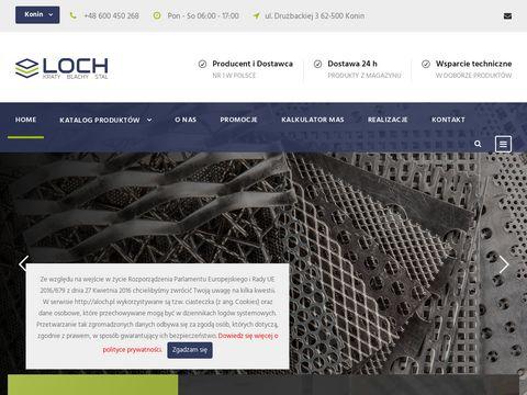 Aloch.pl kraty pomostowe produkcja i sprzedaż