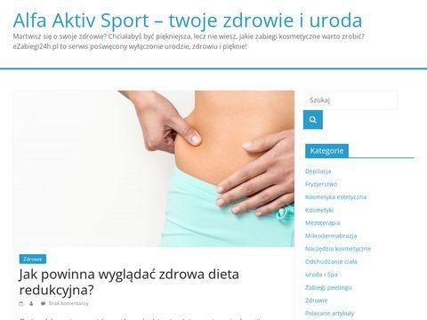 Alfa-aktiv-sport.pl suplemnet diety
