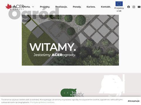 Acer ogrody Białystok