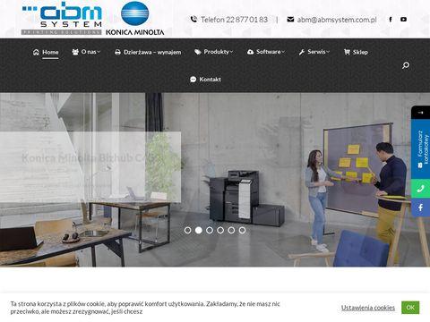 ABM System SP. z o.o. serwis