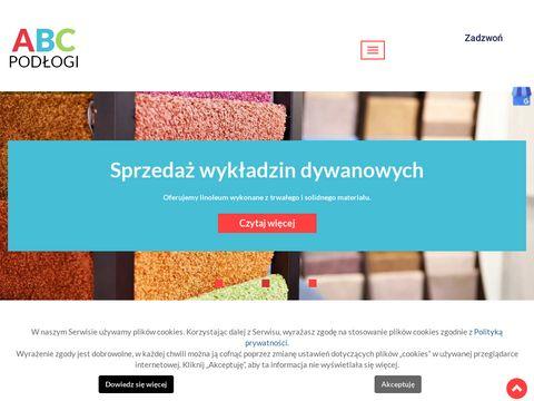 Abc-podlogi.eu montaż wykładzin z linoleum