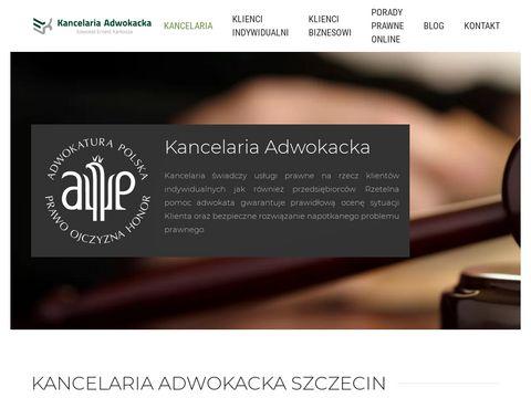 Adwokat-karkosza.pl obsługa prawna Szczecin