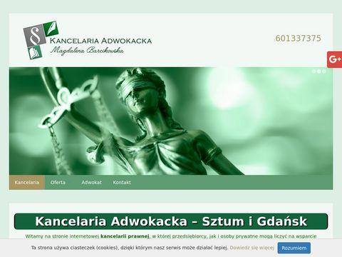 Adwokat-barcikowska.pl adwokaci Gdynia