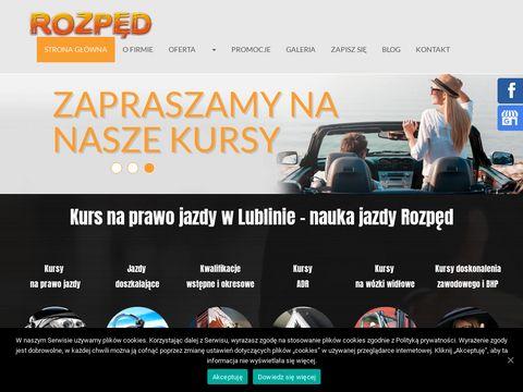 Cskrozped.pl nauka jazdy