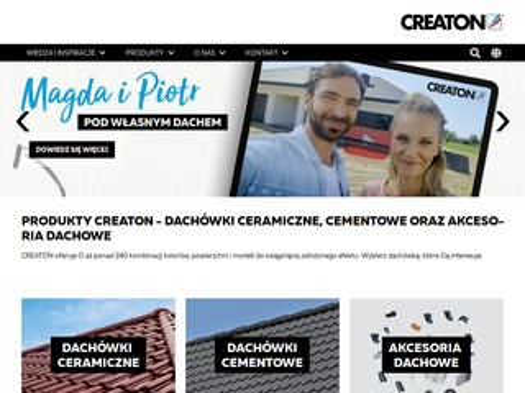 Dachówki ceramiczne - creaton.pl