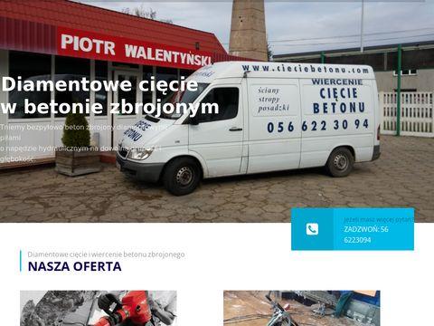 Cieciebetonu.com.pl wiercenie Gdańsk, Sopot, Gdynia