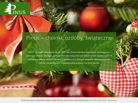 Choinki-pinus.com.pl sztuczne stroiki