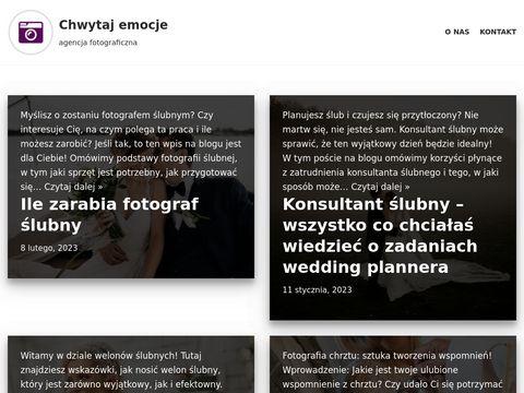 Chwytajemocje.pl tani fotograf ślubny Piekary Śląskie