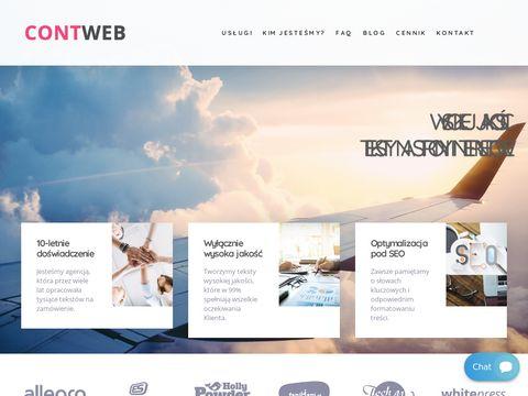 Contweb copywriter Wrocław