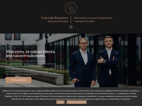 Cbkancelaria.pl adwokat w Krakowie