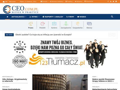 CEO.com.pl magazyn kadry zarządzającej
