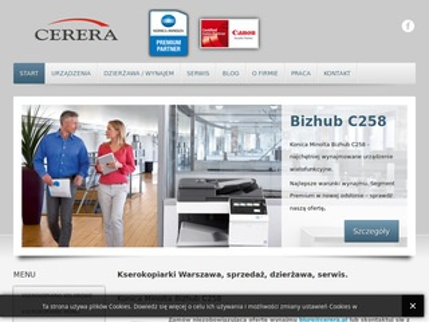 Cerera.pl kserokopiarki