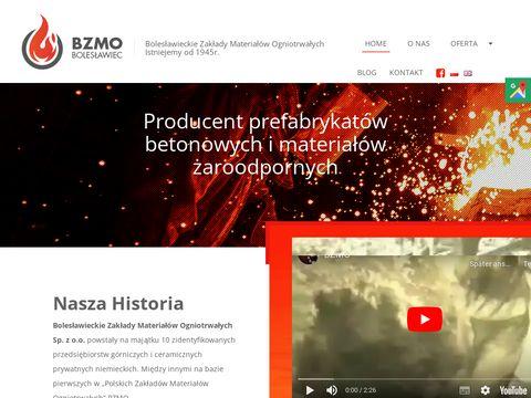 Bzmo.com.pl surowce ceramiczne