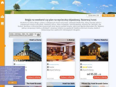 Bruksela-hotele.pl Tanie hotele w Brukseli