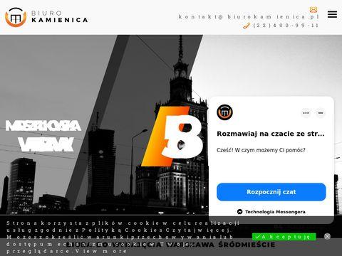 Biurokamienica.pl sala konferencyjna