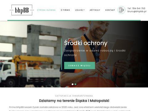 Bhpbb.pl usługi bhp Śląsk