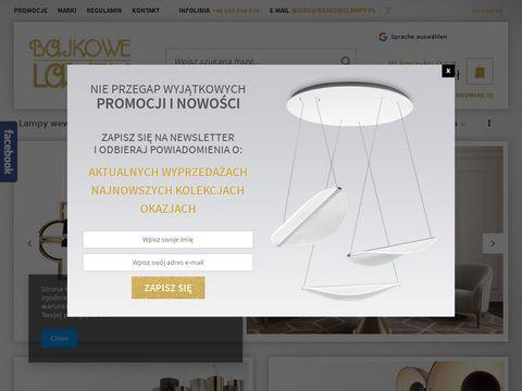 Bajkowelampy.pl lampy Cleoni