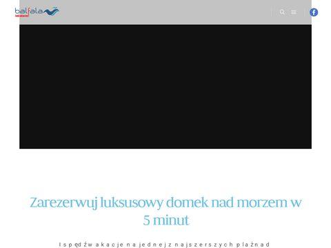 Balfala.pl - domki nad morzem komfortowe i nowoczesne