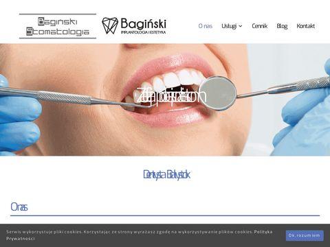 Baginskistomatologia.pl implantologiaBiałystok