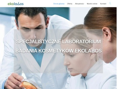 Ekolabus - laboratorium badania kosmetyków