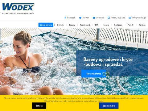 Wodex baseny kryte
