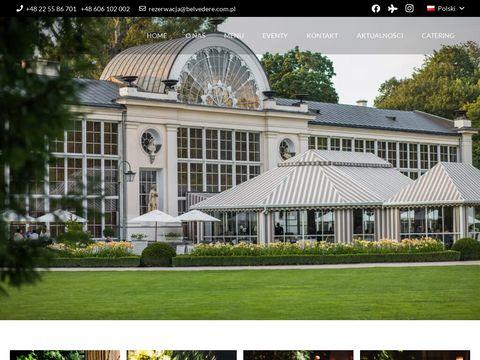 Belvedere.com.pl wykwintna restauracja Warszawa