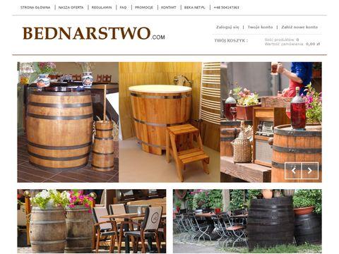 Bednarstwo.com sklep wiadro drewniane