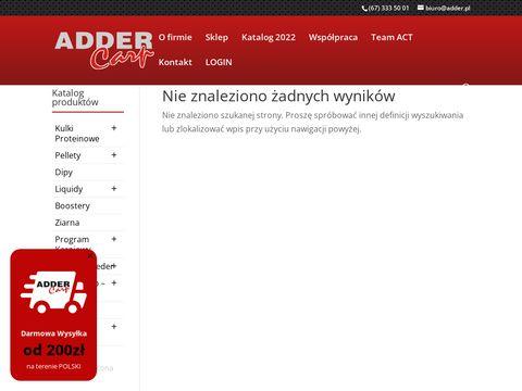 ADDER - sklep internetowy