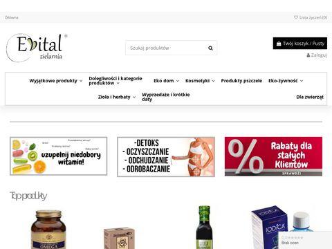 Evital.pl sklep z ziołami