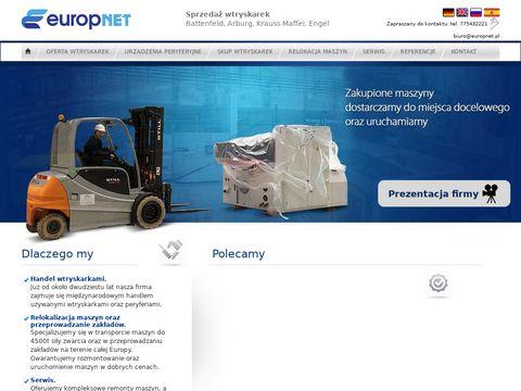 Europnet.pl serwis wtryskarek używanych