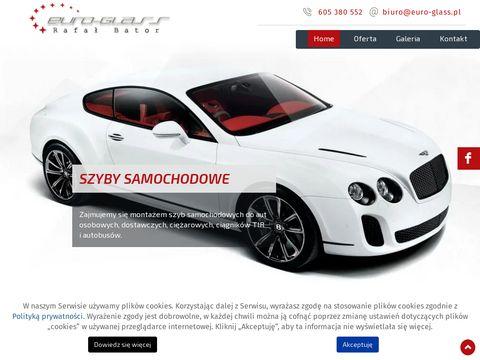 Euro-Glass zmiana koloru auta Wrocław