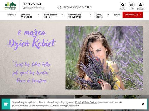 Eko-familia.pl sklep ze zdrową żywnością