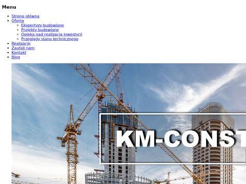 KM-Construction opinie techniczne Warszawa