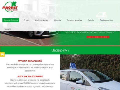 Magnet Szczecin prawo jazdy