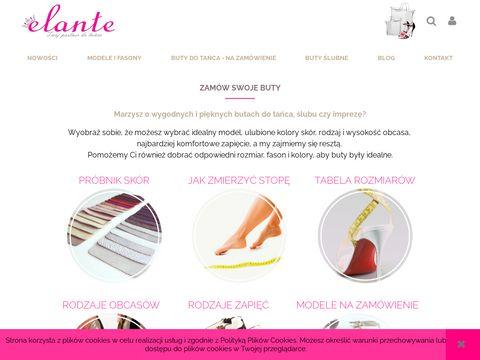 Elante.pl buty taneczne