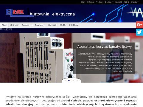 El-Żak paski led Warszawa